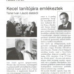 A cikk 2014 májusában jelent meg a Keceli Hírekben.